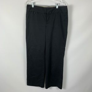 Dockers sz 10 Black Trousers Ideal Fit Stretch